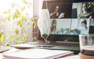 videokonferenz während corona im homeoffice mit proxess